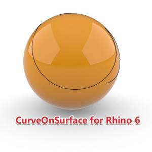 CurveOnSurface for Rhino 6 插件